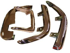 Corvette Bumper Parts Copper Plated